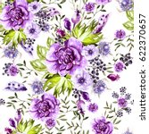 bright watercolor pattern with... | Shutterstock . vector #622370657