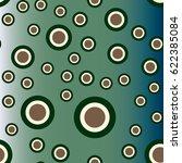 retro colorful dots pattern....