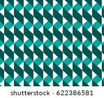 geometric pattern  ribbon... | Shutterstock .eps vector #622386581