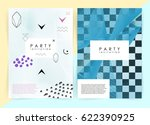 intertwined colorful lines.... | Shutterstock .eps vector #622390925
