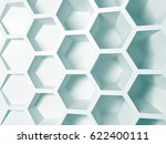 rendering abstract white nano... | Shutterstock . vector #622400111