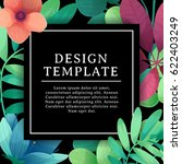banner design template with... | Shutterstock .eps vector #622403249