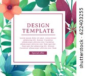 banner design template with... | Shutterstock .eps vector #622403255