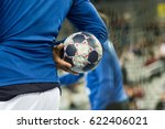 player holding the ball  close... | Shutterstock . vector #622406021