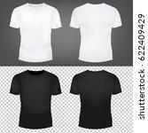 t shirt template collection  | Shutterstock . vector #622409429