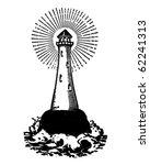 Lighthouse   Retro Clipart...