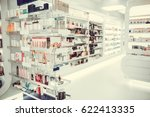 modern pharmacy with variety of ... | Shutterstock . vector #622413335