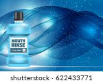 mouth rinse design cosmetics... | Shutterstock .eps vector #622433771