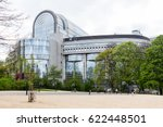 the building of the european... | Shutterstock . vector #622448501