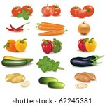 the big colorful group of... | Shutterstock .eps vector #62245381