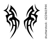 tattoos ideas designs   tribal... | Shutterstock .eps vector #622461944