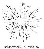 sun burst  star burst sunshine... | Shutterstock .eps vector #622465157