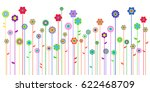 spring background with space... | Shutterstock .eps vector #622468709