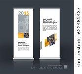 abstract business vector set of ... | Shutterstock .eps vector #622485437