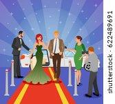 celebrity design composition... | Shutterstock .eps vector #622489691