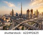 dubai  uae   february 09  2017  ... | Shutterstock . vector #622492625