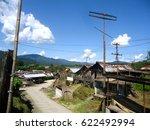 rural landscape of hong village ... | Shutterstock . vector #622492994