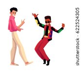 two men  guys  caucasian and... | Shutterstock .eps vector #622524305