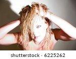 a sexy female portrait | Shutterstock . vector #6225262