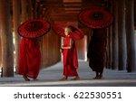 Monk Myanmar  Southeast Asian...