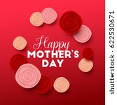 happy mothers day background... | Shutterstock .eps vector #622530671