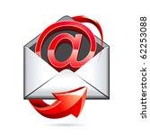 e mail vector icon | Shutterstock .eps vector #62253088