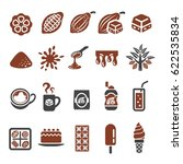 cocoa chocolate icon | Shutterstock .eps vector #622535834