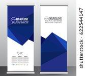 roll up business brochure flyer ... | Shutterstock .eps vector #622544147