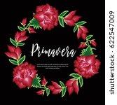 spring  in spanish  floral...   Shutterstock .eps vector #622547009
