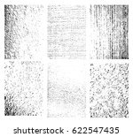 set of grunge texture.... | Shutterstock .eps vector #622547435