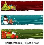christmas banners | Shutterstock .eps vector #62256760
