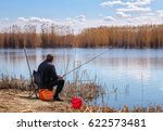 A Fisherman With A Fishing Rod...