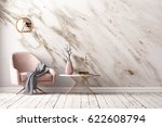 interior with armchair and a... | Shutterstock . vector #622608794