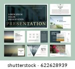 presentation templates. use in... | Shutterstock .eps vector #622628939