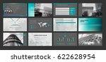 original black presentation... | Shutterstock .eps vector #622628954