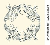 decorative elements for design  ... | Shutterstock .eps vector #622632695