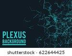 abstract vector illustration.... | Shutterstock .eps vector #622644425