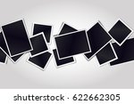 composition of realistic black... | Shutterstock . vector #622662305