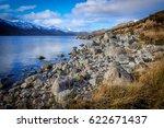 Loch Side In Scotland.