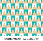 abstract vector seamless... | Shutterstock .eps vector #622682849