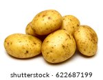 close up of a heap of uncooked... | Shutterstock . vector #622687199