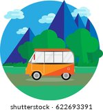 abstract image of the car in... | Shutterstock .eps vector #622693391