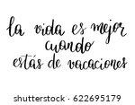 spanish phrase modern... | Shutterstock .eps vector #622695179