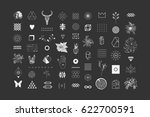 set of different elements and... | Shutterstock .eps vector #622700591