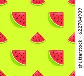 vector seamless pattern with... | Shutterstock .eps vector #622704989