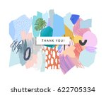 creative universal header in... | Shutterstock .eps vector #622705334