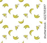 vector seamless pattern with... | Shutterstock .eps vector #622705397