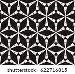 vector triangle seamless... | Shutterstock .eps vector #622716815