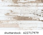 wooden board white old style...   Shutterstock . vector #622717979