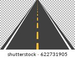 road street highway in usa with ... | Shutterstock .eps vector #622731905